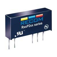 DC/DC měnič Recom R05P212S/P, vstup 5 V/DC, výstup 12 V/DC, 167 mA