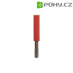 Adaptér 4/4 mm MultiContact 24.0163-22, TPE, rovný, červená