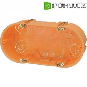 2komorová spínačová krabice, oranžová, 352900003