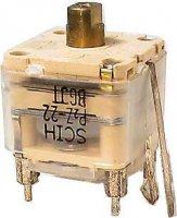 Ladící kondenzátor 2x170pF+2x25pF+4x doladění