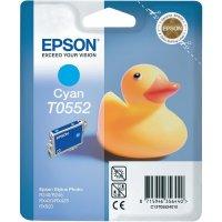 Cartridge do tiskárny Epson T0552, C13T05524010, cyanová