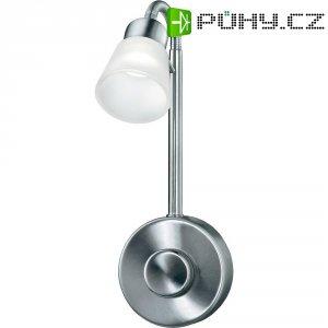 Lampička do zásuvky Sygonix Catania, 34343D, 1 x 3 W, stříbrná