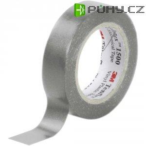 Izolační páska 3M Temflex 1500, XE003411495, 15 mm x 10 m, šedá