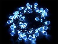 Vánoční osvětlení - kapka 4M IP44 modrá,40LED