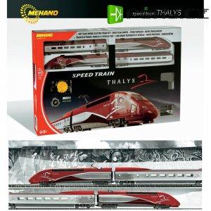 Startovací sada H0 Mehano T106, vlak TGV Thalys , ovál 1175 x 955 mm