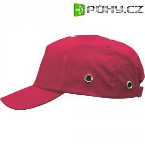 Pracovní čepice s kšiltem Voss Helme VOSS-Cap 2687, červená