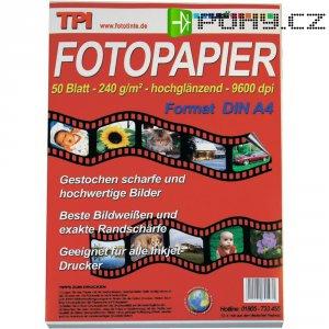 Fotopapír TPI A4 240G 50 listůLESK