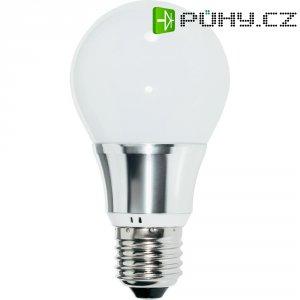 LED žárovka Renkforce E27, 5,5 W = 40 W, studená bílá