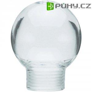 Stínítko pro žárovku, skleněné, kulatý tvar, čiré