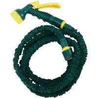 Flexibilní hadice na vodu, 7,5 m, Ø 25 mm, zelená/žlutá