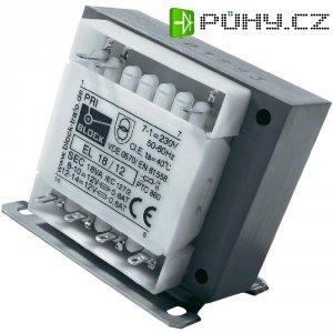 Bezpečnostní transformátor Block EL 50/12, 2x 12 V, 50 VA