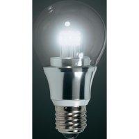 LED žárovka Renkforce E27, 5,5 W = 40 W, studená bílá, stmívatelná