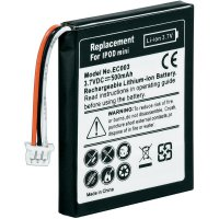 Náhradní Li-Ion akumulátor pro iPod mini, 3,7 V 600 mAh