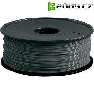Náplň pro 3D tiskárnu, Renkforce PLA175H1, PLA, 1,75 mm, 1 kg, šedá