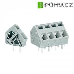 Pájecí svorkovnice série 236 WAGO 236-601, 500 V/AC, 0,08 - 2,5 mm², 10 / 10,16 mm, šedá