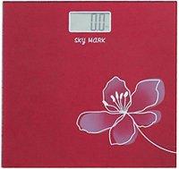 Osobni váha SKYMARK 2,5-150kg digitální, červená
