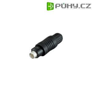 Kulatý konektor submin. Binder 430 (99-4905-00-03), 3pól., kab. zástr., 0,25 mm², 3,5-5 mm