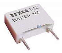 10n/400V TC227, svitkový kondenzátor radiální, RM=10mm