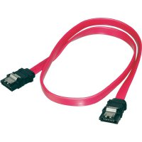 Kabel SATA L-typ, zásuvka ⇔ zásuvka, 0,5 m, Digitus