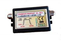 Pásmová propust UHF (22-60k), PP08-X k odladění O2+UFON+LTE