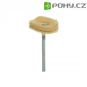 Semišové leštící kotouče, Ø 22 mm, Proxxon Micromot 28 298 22, 2 ks