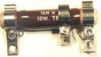 470R TR649, rezistor 10W drátový s odbočkou