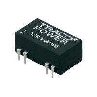 DC/DC měnič TracoPower TDR 3-4823WI, vstup 18 - 75 V/DC, výstup ±15 V/DC, ±100 mA, 3 W, DIL-