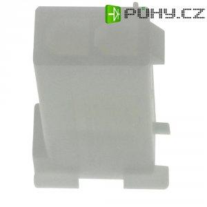 Pouzdro TE Connectivity 172157-1, zásuvka rovná, 600 V/AC, bílé