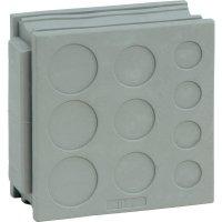 Průchodka Icotek DT 2 (41510), IP54, 42 x 41,5 mm, šedá