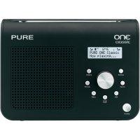 DAB+ rádio Pure One CLASSIC II, FM, černá