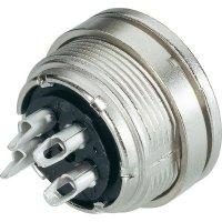 Přístrojový konektor Binder 09-0316-00-05, zásuvka vestavná, 5pól., IP40