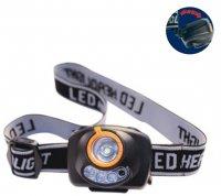VELAMP LED čelovka s fcí SOS světla, senzor pohybu IH520