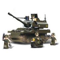 Stavebnice SLUBAN ARMY TANK LEOPARD M38-B9800