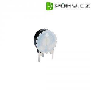 Rýhovaný knoflík Piher (5371 SW), černá