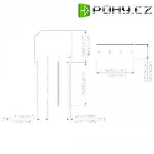 Dioda/usměrňovač IR 2KBB05, U(RRM) 50 V, U(FM) 1 V, I(F) 2 A, D-37