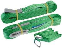 Zvedací pás nosnost 2000kg, délka 6m, zelený