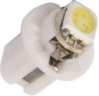 Žárovka LED B8,5D 12V/0,5W bílá