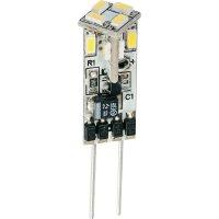 LED žárovka Diodor, G4, 0,6 W, 30 V, stmívatelná, teplá bílá