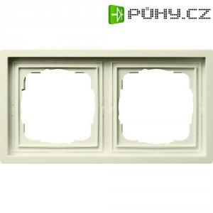 Rámeček plochého spínače 2dílný Gira, standard 55, krémově bílá (0212111)