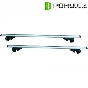 Hliníkový střešní nosič, 135 cm, 2 ks