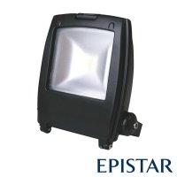 LED reflektor venkovní 30W/2500lm EPISTAR, MCOB, AC 230V, černý