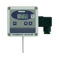Volně nastavitelný převodník teploty se senzorem Pt1000, Greisinger GTMU - MP/3,