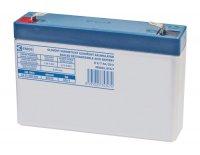 Baterie olověná 6V/ 7Ah GP bezúdržbový akumulátor
