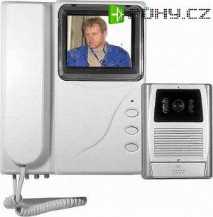 """Videotelefon + vrátný barevný LCD 4"""""""