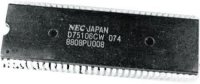 D75106CW - MCU NEC, SDIP64 /UPD75106CW/