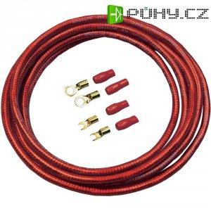 Sada kabelu a zástrček pro autobaterii Sinus Live BK-16P, 16 mm², 5 m