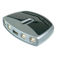 Elektronický USB přepínač, 4x USB