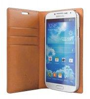 Pouzdro pro Samsung S II, flipové, Goospery, hnědé