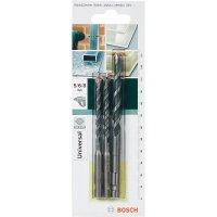 Sada víceúčelových vrtáků Bosch SDS-Quick, 3dílná, 2609256918