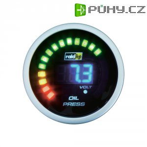 Palubní tlakoměr oleje Raid Hp NightFlight, 660501